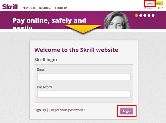 ジパングカジノスクリル(Skrill)入金方法